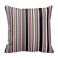 "18"" x 18"" Black Gray Red White Stripes Decorative Throw P... https://www.amazon.com/dp/B01DJ07LAO/ref=cm_sw_r_pi_dp_ig6JxbGM9HRQS"