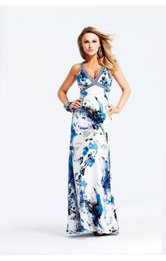 Butterfly dress.  If only I had a reason to buy it.    Faviana 6931 Beaded Silky Chiffon Prom Dress
