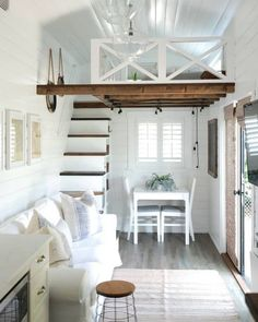 Tiny House Listings Tiny Houses For Sale and Rent tinyhouses Beautiful THOW &; Tiny House for S&; Tiny House Listings Tiny Houses For Sale and Rent tinyhouses Beautiful THOW &; Tiny House for S&; Acani […] Homes For Sale 2 bedroom Tiny House Loft, Tiny House Plans, Tiny House Office, Cabin With Loft, Loft Home, Two Bedroom Tiny House, Tiny Loft, Tiny House Stairs, Best Tiny House