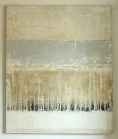 "Saatchi Art Artist: CHRISTIAN HETZEL; Acrylic 2014 Painting ""blue line"""