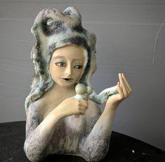 Natasha Dikareva (@DikarevaArt) | Twitter Ceramic Figures, Art Forms, Unique Art, Art Pieces, Clay, Sculpture, Statue, Ceramics, 3d