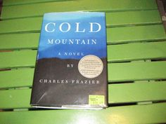 """Cold Mountain True First with """"man-woman"""" MISPRINT on page 25~hb dj first stated"""