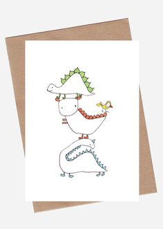 Dinosaur via SpilledAase.com. Click on the image to see more!
