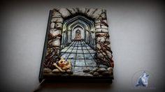 Corredor Castillo secreto cuaderno diario por ArtisticVariations84
