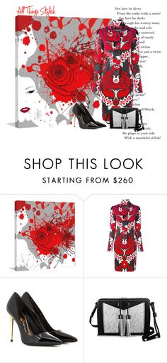 """""""Stylish things"""" by zabead ❤ liked on Polyvore featuring Marmont Hill, Dsquared2, Tom Ford and Carianne Moore"""