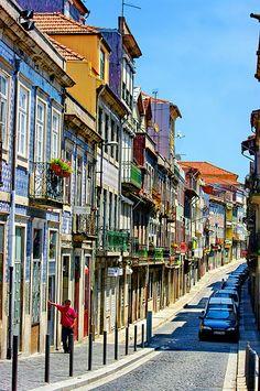 Porto rua do Sol, Portugal