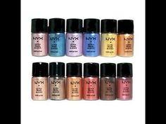 NYX Ultra Pearl Loose Eyeshadow Review & swatches #video via #jekyka #YT #smoky #eyemakeup #pretty #gold #eyeliner -  bellashoot.com