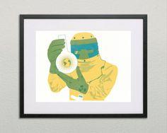Vivarium Sci-Fi Silkscreen Screen Print by BenWhittington on Etsy
