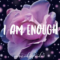 You are enough! Write it all over your house and believe it! I made this and put it on my phone and tablet to remind me! It's one of the biggest lies we believe about outselves - not being enough. But you are enough! Feel free to save this or make your Be True To Yourself, Motivate Yourself, Be Yourself Quotes, Finding Yourself, Love Again Quotes, Purpose Statement, Self Value, Value Quotes, Time To Live