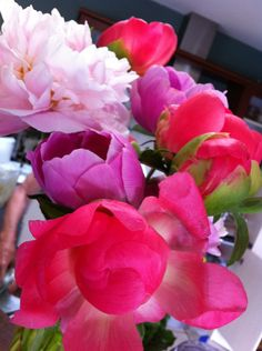 Beautiful peonies....