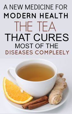 Orange tea with cinnamon and ginger to combat a cold/flu