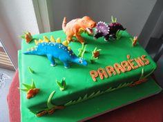 bolos de dinossauros - Pesquisa Google