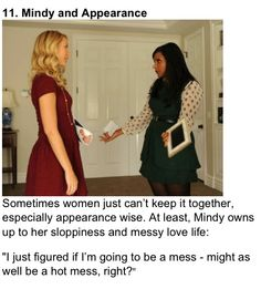 Relationship Quotes from Mindy Lahiri - The Mindy Project (Mindy Kaling)