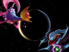 Cresselia simbolo de los sueños contra Darkrai simbolo de las pesadillas