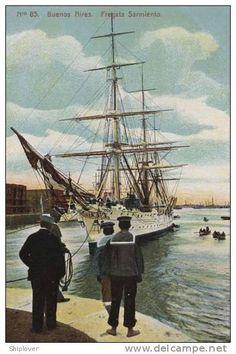 """Buenos Aires. Fragata """"Sarmiento"""""""