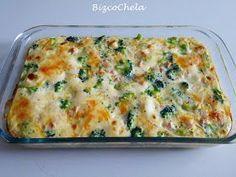 Comenzamos la semana con verduras????, pues la propuesta de hoy es este riquísimo PASTEL DE BRÓCOLI Y PAVO, una receta sencilla, sin c...