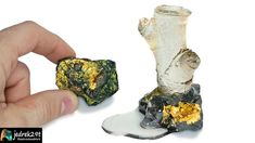 """I will show you what Pyrite """"fool's gold"""" looks like Fool Gold, Resin Art, The Fool"""