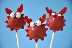 Crab Cake Pops by @Melanie Bauer Pomerico