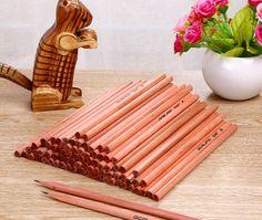 Log triangular lead - free pencil Last Name Signs, Lead Free, Stationary, Pencil