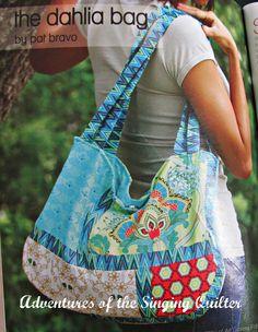 The Dahlia bag, pattern by Pat Bravo