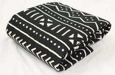Black and White Traditional African Mud by TheAfricanDiaspora, $26.99
