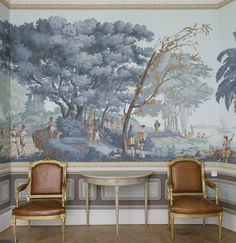 Degournay Wallpaper. #Degournay: Available through your Professional Interior Design Purchasing Firm at InteriorDesignerShowroom.com