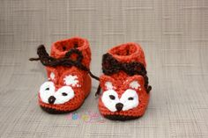 Fox Baby Booties - Fox Booties - Crochet Baby Booties - Crochet Fox Booties - Fox Baby Shoes - Crochet Baby Shoes - Unisex Baby Shower Gift Crochet Fox, Crochet Baby Shoes, Crochet Baby Booties, Fox Baby, Handmade Baby Gifts, Woodland Baby, Beautiful Gifts, Unisex Baby, Mom And Baby