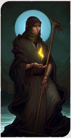 The Hermit by Mezamero on DeviantArt
