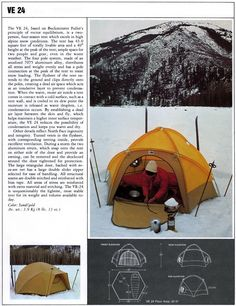 The North Face The start of something special in tent design. Tent Design, Face Images, Outdoor Gear, The North Face