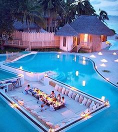 Cool Backyard with pool