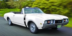1968 Oldsmobile 4-4-2 convertible