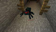 Orphea2012 Youtube et Minecraft: Minecraft | Araignée venimeuse dans une mine aband...