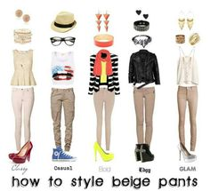 I need to get some beige pants! The first and last style for work!