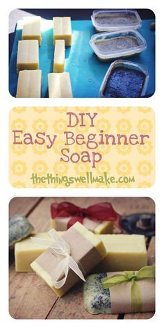 DIY Easy Beginner Soap with great ideas for customizing it and making it fun! - Oh, The Things We'll Make!