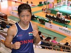 Mary Kom!! India's boxing medal hope...    Mangte Chungneijang Mary Kom, also known as MC Mary Kom, Magnificant Mary or simply Mary Kom, (born 1 March 1983) is a boxer from Manipur, India.[1] She is a five-time World Boxing champion, and the only woman boxer to have won a medal in each one of the six world championships.[2] She is the only Indian woman boxer to have qualified for the 2012 Summer Olympics, competing in the 51 kg category, where she is currently ranked world no. 4 by AIBA.