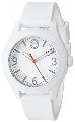 ESQ Movado Women's 07101451 One Analog Display Swiss Quartz White Watch