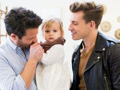 Nate Berkus and husband Jeremiah Brent took their 21-month-old daughter Poppy to Brent's Target launch of his new baby line