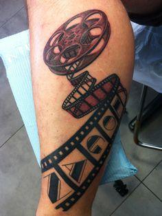 film reels tattoos - Google Search