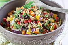 Full Spectrum Veggie Salad | by Sonia! The Healthy Foodie