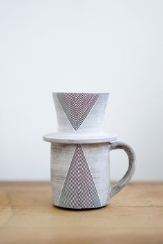 pour over coffee cup