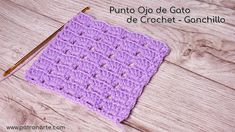Fácil, rápido de tejer y muy versátil para tus proyectos tejidos a crochet, Patronarte te enseñara paso a paso con la ayuda de su tutorial, anímate a Gato Crochet, Crochet Hats, Cat Eye, Stitch, Eyes, Manhattan, Crochet Cushions, How To Knit, Step By Step Instructions