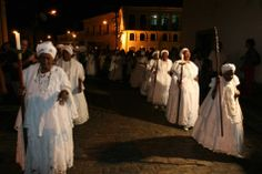 Sisterhood of the Good Death - Bahia Irmandade de Boa Morte in Cachoeira - Bahia - Brazil. Sisterhood of descendants of slaves who resisted slavery and established their right to a dignified life.