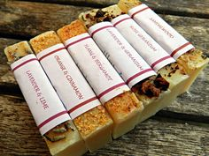 Mini guest soap set of 6  handmade cold process soaps by ZestySoap, £5.00