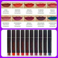 New liquid to matte lipstick  from Younique... www.crystalsbeautybase.com