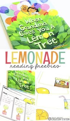 When you think of summer, you think of swimming, fun play outside, and sweet summer treats. How about delicious, refreshing summer lemonade or a lemonade stand? This activity starts out by reading a book about a little girl who receives a lemon tree from her grandma for her birthday. The free printable allows your kindergarteners to review the story by retelling it with words and pictures. #freeprintable #kindergarten #reading #storyretelling #summer Kindergarten Classroom, Classroom Themes, Kindergarten Reading, Prek Literacy, Early Literacy, Classroom Activities, Classroom Organization, Retelling Activities, Reading Activities