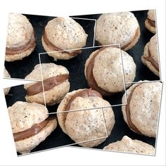 Gefüllte Nuss-Nougat-Busserl These filled nut nougat biscuits are wonderful! Berry Smoothie Recipe, Easy Smoothie Recipes, Easy Smoothies, Snack Recipes, Dessert Parfait, Coconut Milk Smoothie, Homemade Frappuccino, Grilled Fruit, Cinnamon Cream Cheese Frosting