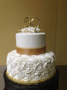 50th anniversary tier cakes - Google Search