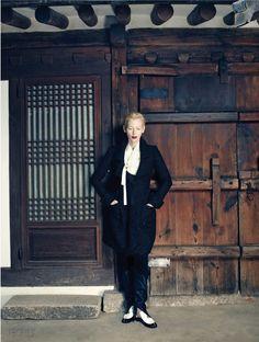 한복 hanbok, Korean traditional clothes #VOGUEkorea #TildaSwinton