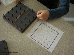 ecole enfantine maternelle maths espace orientation Geoplan