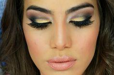 Resultado de imagem para maquiagem social noite